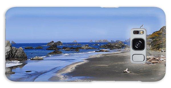 Sandy Beach On The North Coast Galaxy Case