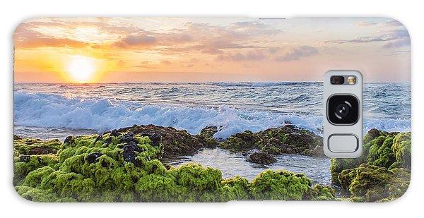 Sandy Beach Sunrise 2 Galaxy Case