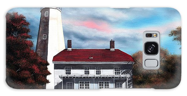 Sandy Hook Lighthouse Galaxy Case