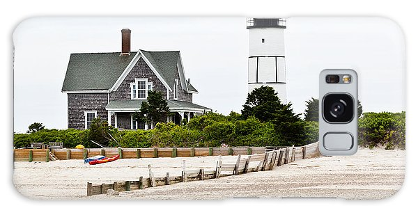 Sandy Neck Lighthouse Cape Cod Galaxy Case