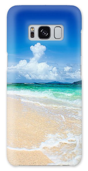 Sandy Spit Bvi Galaxy Case