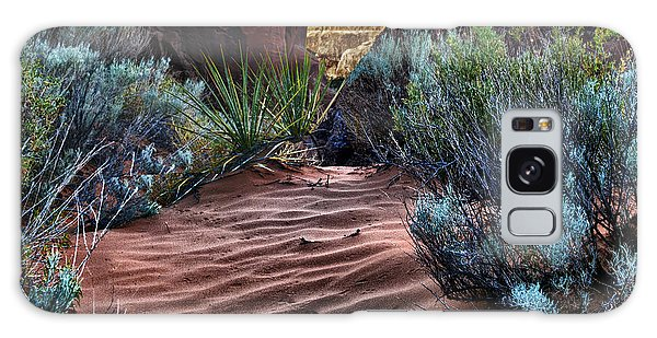 Sandy Trail Arches National Park Galaxy Case by Gary Warnimont
