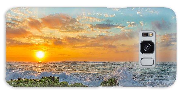 Sandy Beach Sunrise 3 Galaxy Case