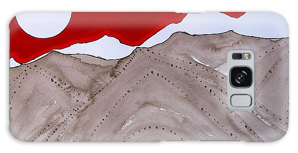 Sangre De Cristo Peaks Original Painting Galaxy Case