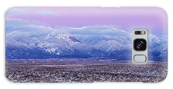 Sangre De Cristo Galaxy S8 Case - Sangre De Cristo Range After Sunset by Panoramic Images