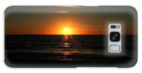Sanibel At Sunset Galaxy Case by The Art of Alice Terrill