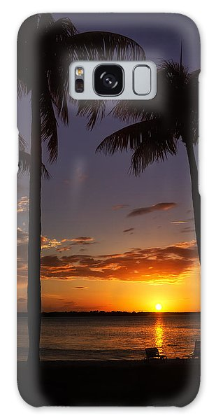 Sanibel Island Sunset Galaxy Case