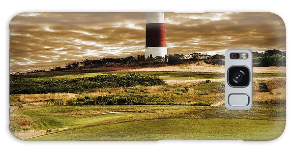 Sankaty Head Lighthouse In Nantucket Galaxy Case