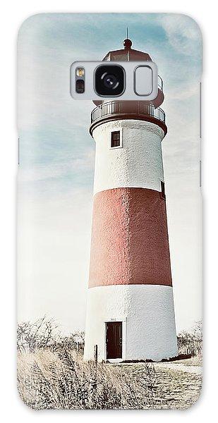 Sankaty Head Lighthouse Nantucket  Galaxy Case by Marianne Campolongo