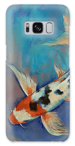 Sanke Butterfly Koi Galaxy Case by Michael Creese