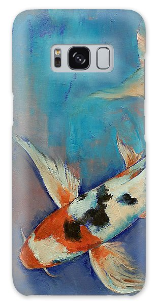 Collectibles Galaxy Case - Sanke Butterfly Koi by Michael Creese