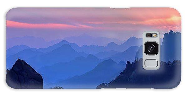 Layers Galaxy Case - Sanqing Mountain Sunset by Mei Xu