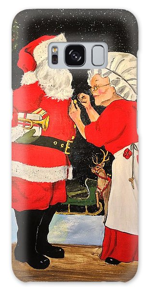 Santa And Mrs Galaxy Case