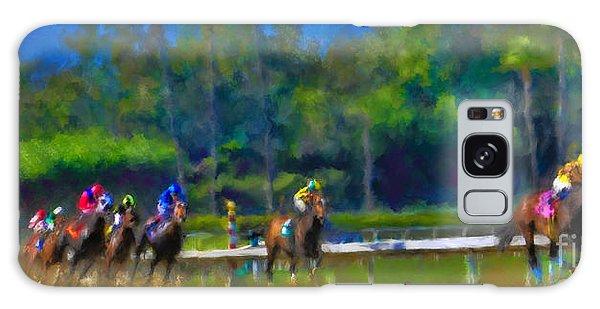 Santa Anita Races Galaxy Case by Andrea Auletta