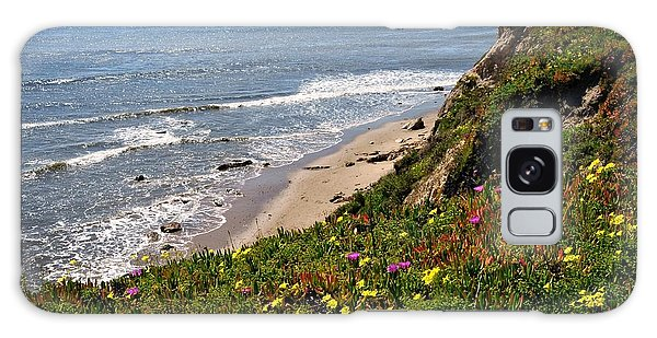 Santa Barbara Beach Beauty Galaxy Case