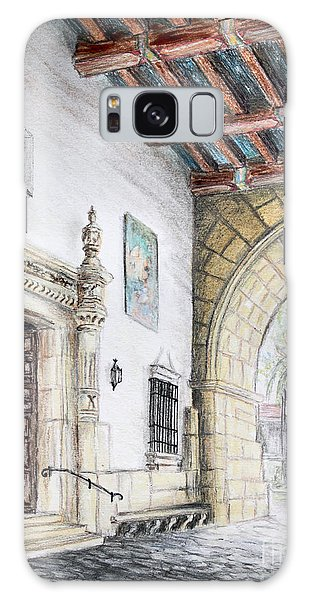 Santa Barbara Courthouse Arch Galaxy Case
