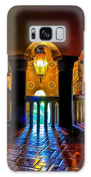 Santa Barbara Courthouse Glow Galaxy Case
