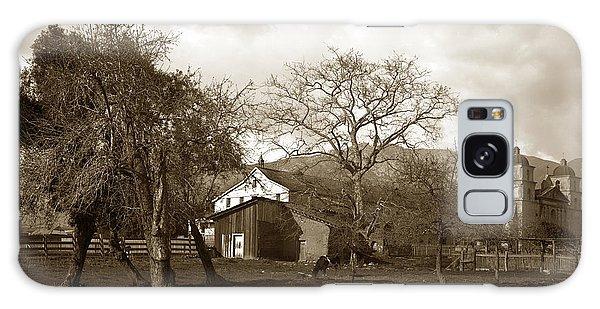 Santa Barbara Mission California Circa 1890 Galaxy Case