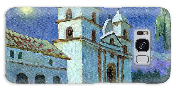 Santa Barbara Mission Moonlight Galaxy Case
