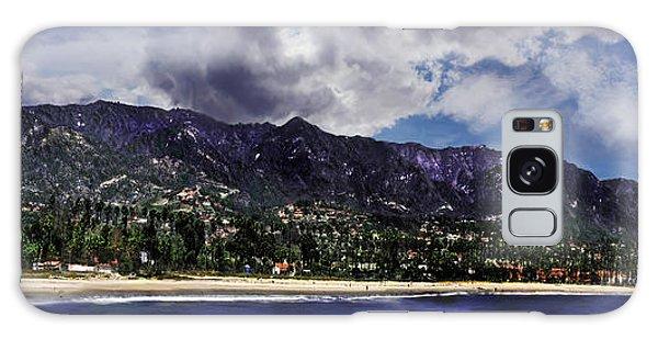 Santa Barbara Panorama Galaxy Case by Danuta Bennett