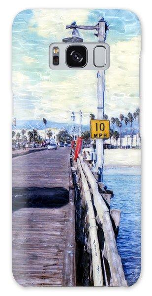 Santa Barbara Pier Galaxy Case