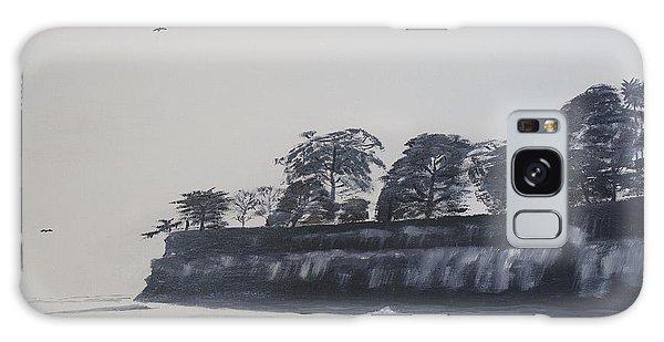 Santa Barbara Shoreline Park Galaxy Case by Ian Donley