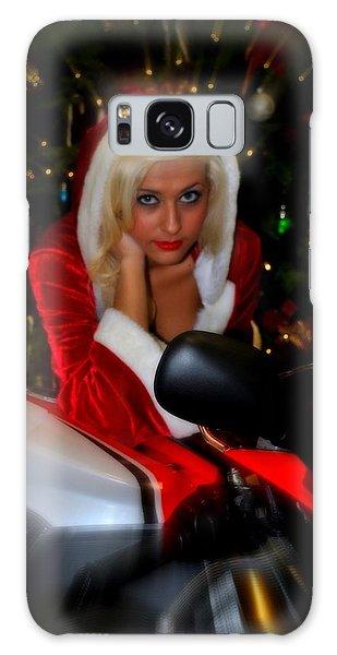 Santa Biker Galaxy Case