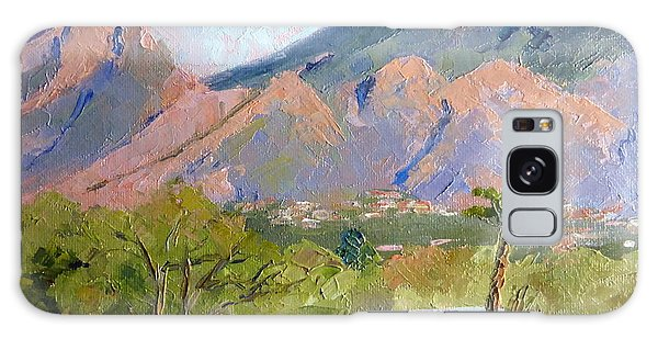 Santa Catalinas Galaxy Case by Susan Woodward