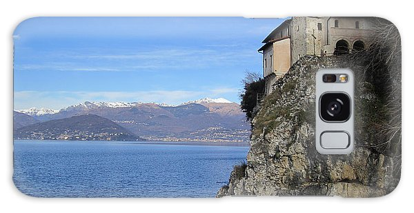 Santa Caterina - Lago Maggiore Galaxy Case by Travel Pics
