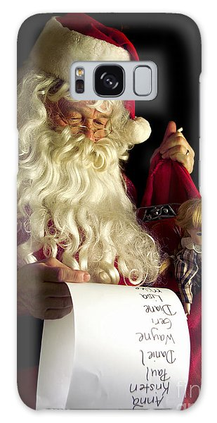 Santa Claus Galaxy Case - Santa Claus by Diane Diederich