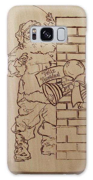 Santa Claus - Feliz Navidad Galaxy Case