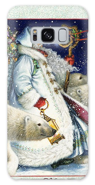 Santa Claus Is A Holiday Tradition Galaxy Case