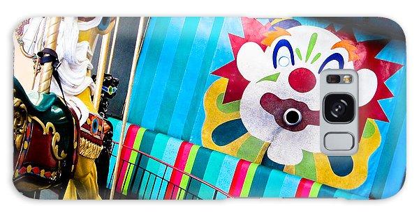 Santa Cruz Boardwalk Carousel Galaxy Case