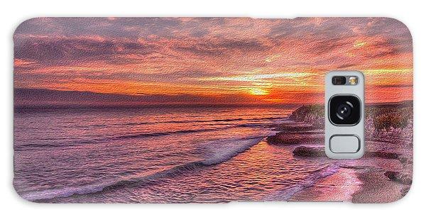 Santa Cruz Sunset Galaxy Case