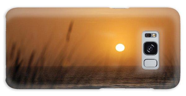 Santa Cruz Sunset Galaxy Case by Shane Kelly