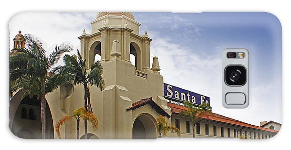 Santa Fe Depot Galaxy Case by Photographic Art by Russel Ray Photos