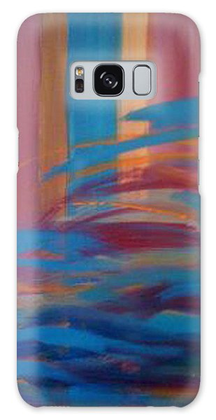 Santa Fe Hues Galaxy Case by Judi Goodwin