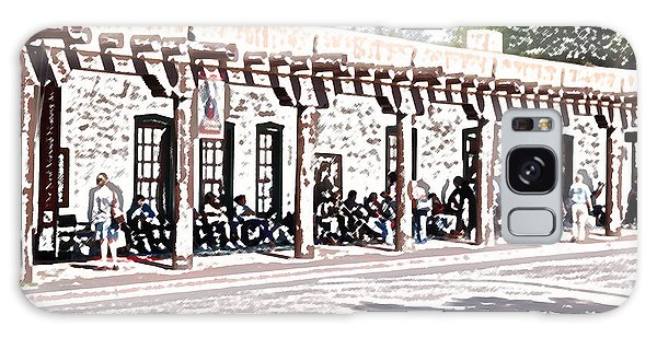 Santa Fe Inn Of The Governors  Galaxy Case by Kathleen Stephens