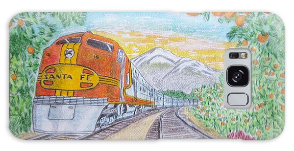 Santa Fe Super Chief Train Galaxy Case