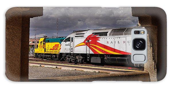 Santa Fe Train Galaxy Case