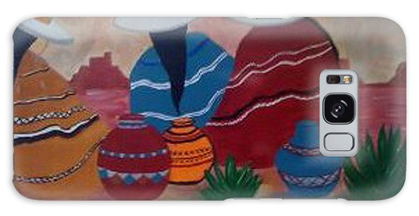 Santa Fe Women Galaxy Case by Judi Goodwin