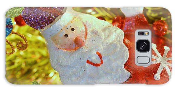 Santa Greetings Galaxy Case