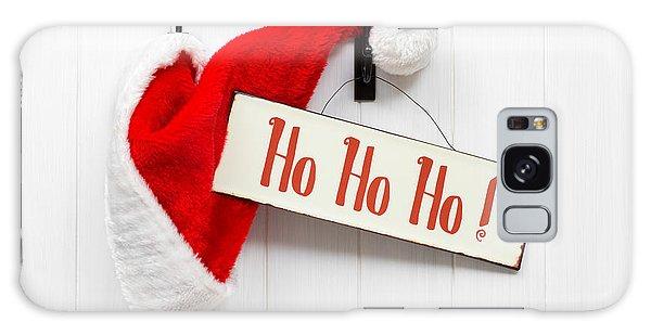 Santa Claus Galaxy Case - Santa Hat And Sign by Amanda Elwell