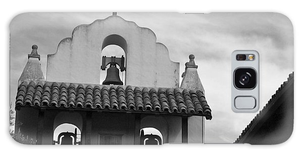 Santa Ines Mission Bell Tower Galaxy Case