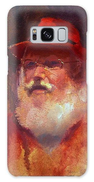 Santa Galaxy Case by Karen Whitworth