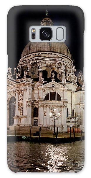 Santa Maria Della Salute At Night Galaxy Case