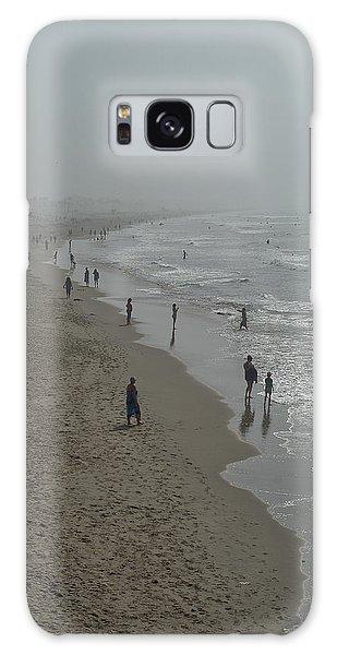 Santa Monica Beach Galaxy Case