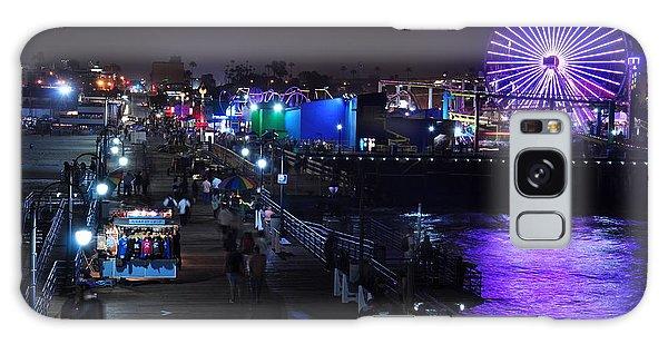 Santa Monica Pier 5 Galaxy Case by Gandz Photography