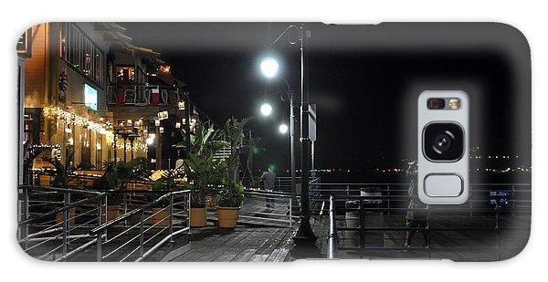 Santa Monica Pier Galaxy Case by Gandz Photography