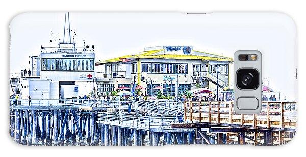 Santa Monica Pier Galaxy Case